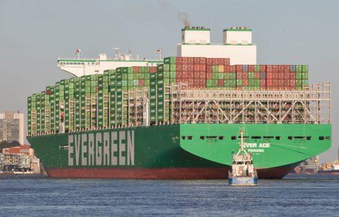 Tàu Ever Ace lớn nhất thế giới sắp vào kênh đào Suez